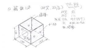 図面の書き方 箱