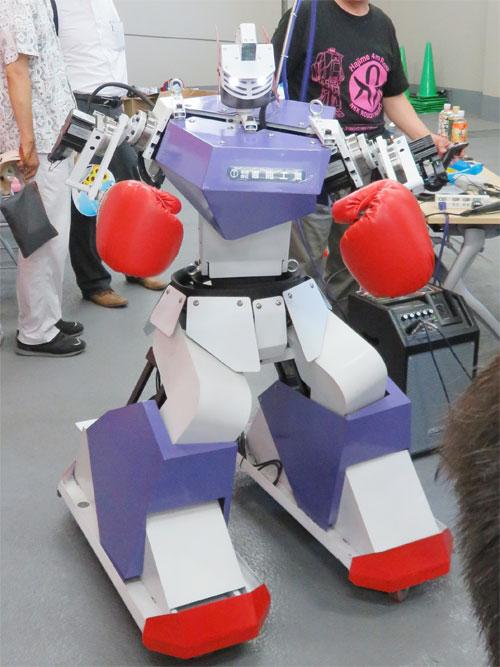 ロボット パンチ