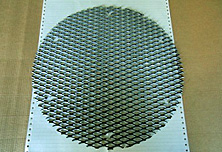 エキスパンドメタル(SS400)加工