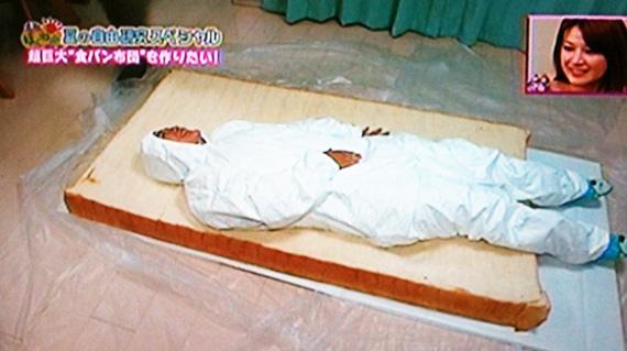 食パンで布団は作れるのか