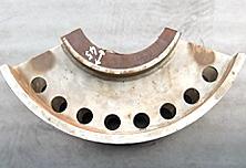 車輪のゴムライニング用金型
